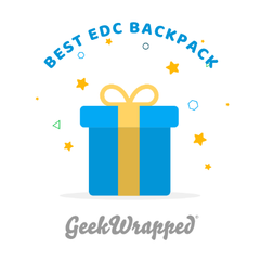 TravTac Stage II Geekwrapped Best EDC Backpack 2018