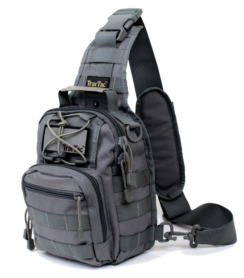 TravTac Stage II Small Everyday Carry Sling Bag - Slate Gray
