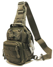 TravTac Stage I Sling Bag, Premium Small EDC Tactical Sling Pack 900D – Ranger Green - TravTac.com
