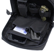 TravTac 3 Pocket Utility Pouch with sample items