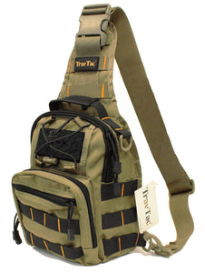 TravTac Stage I Sling Bag, Premium Small EDC Tactical Sling Pack 900D – Bi Color RGB - TravTac.com