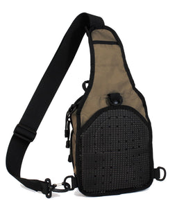 TravTac Metro Sling Bag Small EDC Pack back view