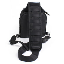 TravTac Onyx Tactical Sling Bag - rear view