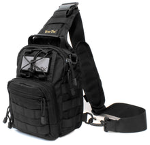 TravTac Tactical Sling Pack Stage II Small Every day carry over the shoulder bag - Black