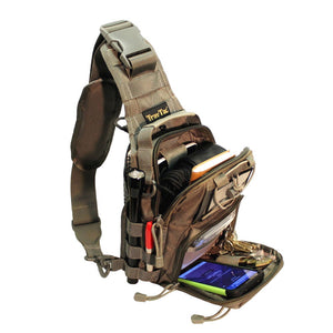 TravTac Tactical Sling Pack Stage II small Every day carry bag