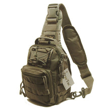 TravTac Stage II Sling Bag, Premium Small EDC Tactical Sling Pack 900D – Ranger Green - TravTac.com