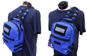 TravTac Patriot Sling Pack wearing