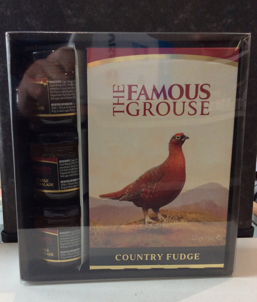 The Famous Grouse Whisky Fudge and Marmalade Giftset