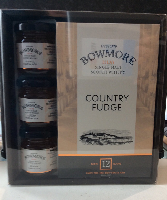 Bowmore Islay Single Malt Whisky and Marmalade Giftset