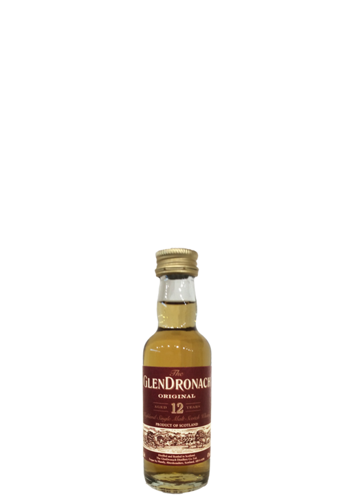 GlenDronach 12 Year Old Original Miniature