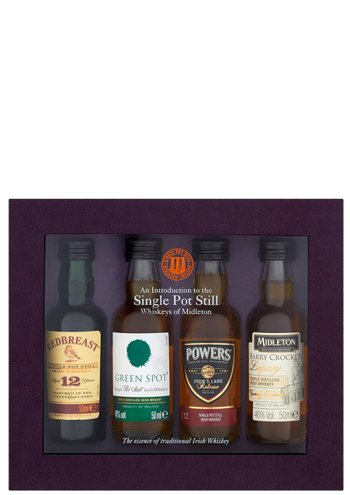 Single Pot Still Whiskey collection
