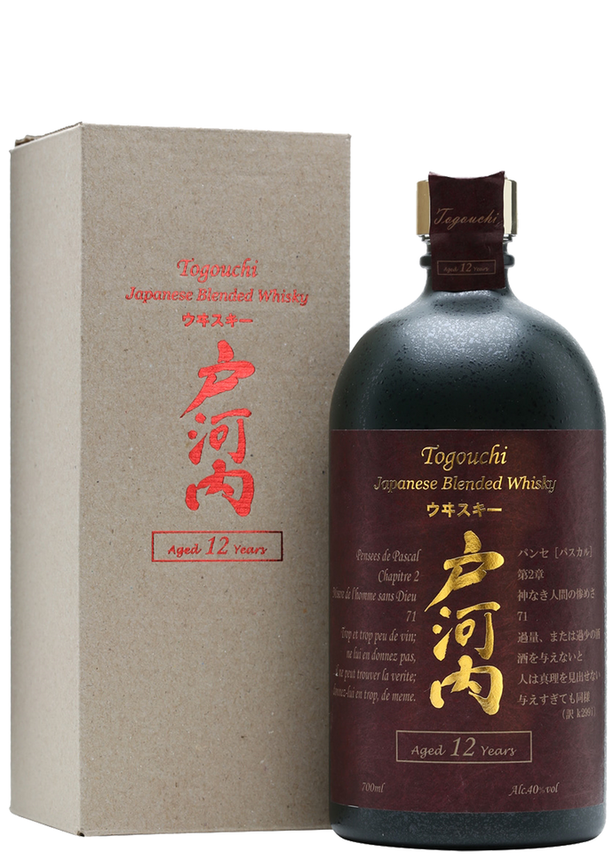 Togouchi 12 Year Old Blended