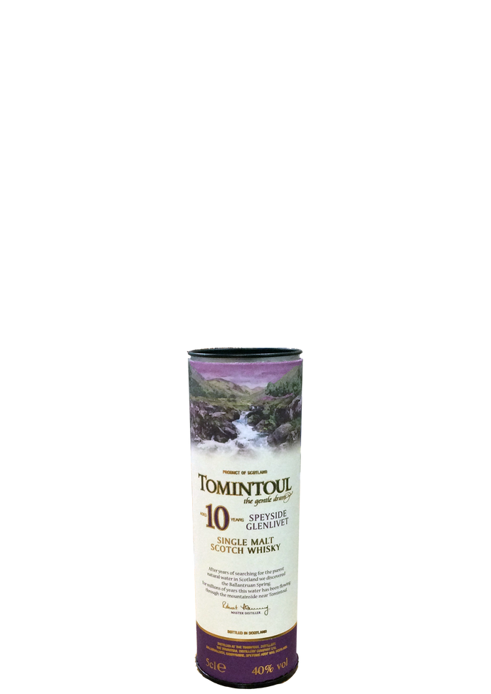 Tomintoul 10 Year Old 5cl miniature