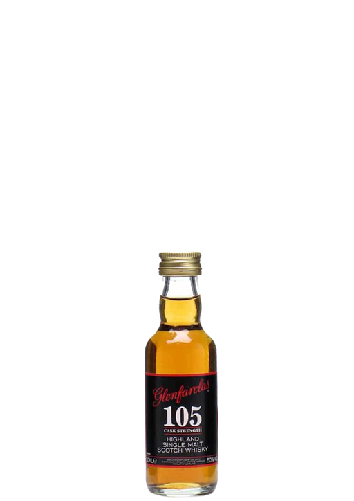 Glenfarclas 105 cask strength Miniature