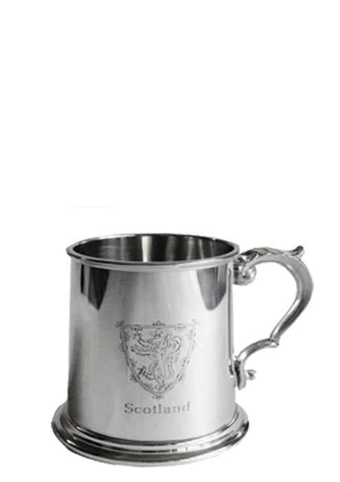 Tankard with Lion Of Scotland