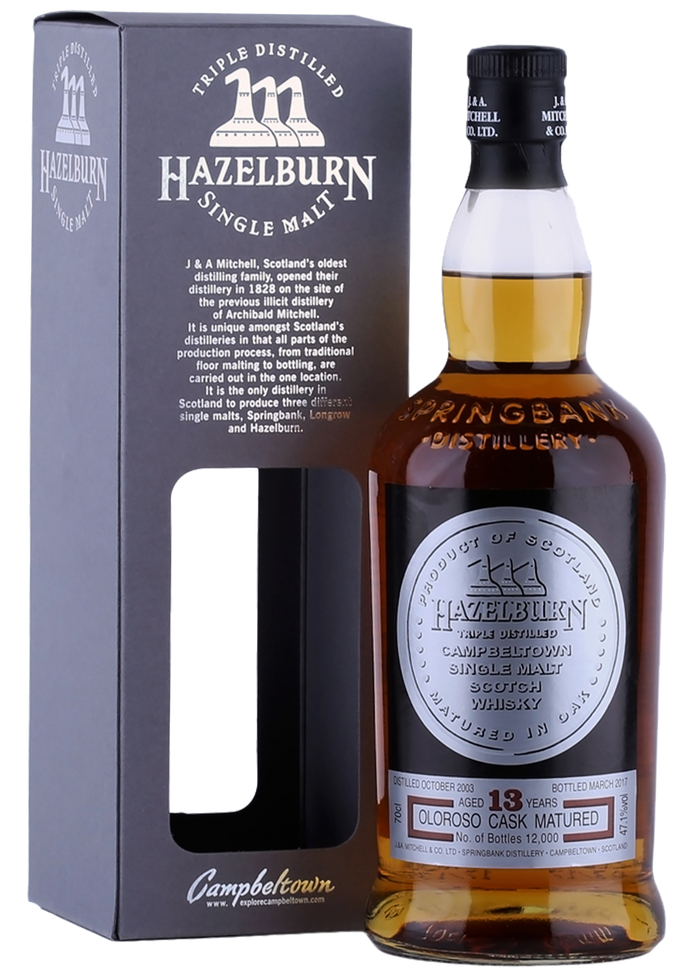 Hazelburn Sherry Wood 13 Year Old