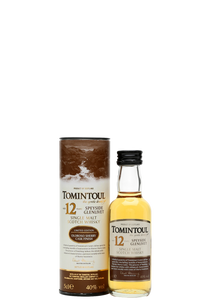 Tomintoul 12 Year Old Sherry Cask Finish Miniature