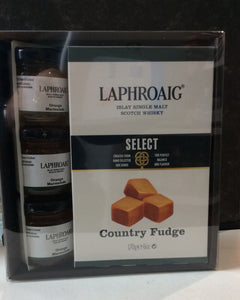 Laphroaig Whisky Fudge and Marmalade Giftset