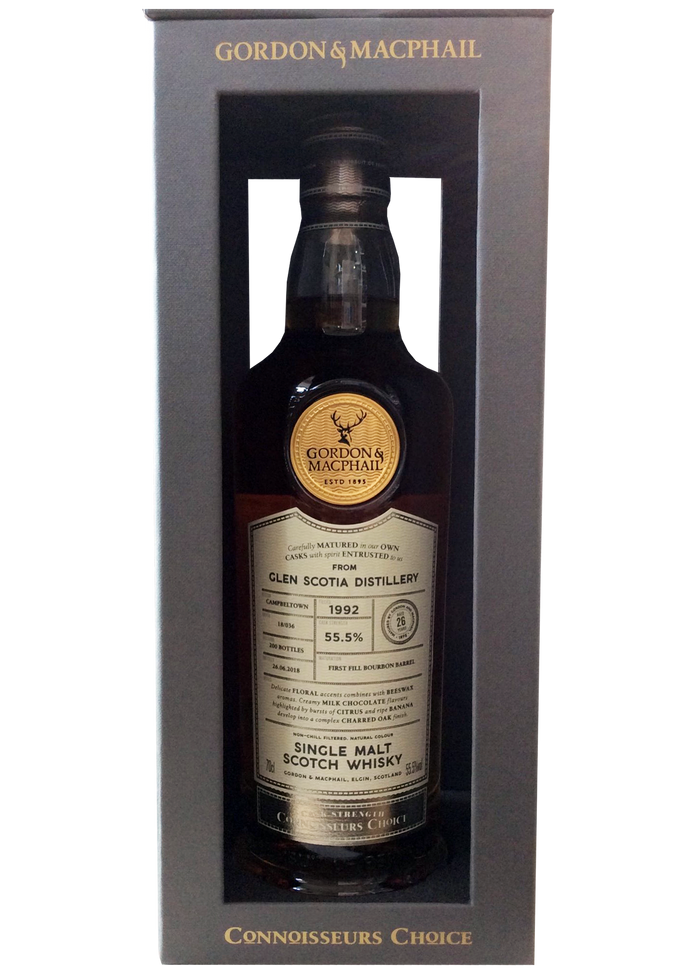 Gordon & MacPhail- Glen Scotia 1992- Connoisseurs Choice