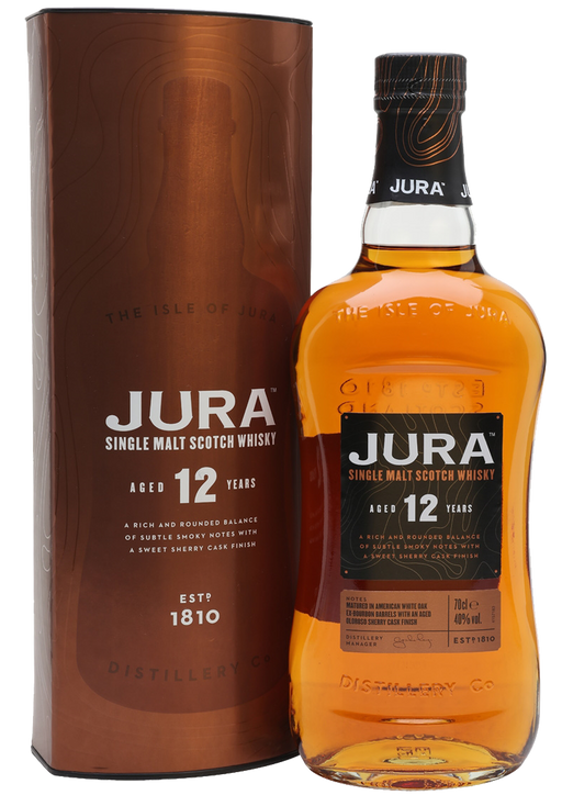 Isle of Jura 12 Year Old