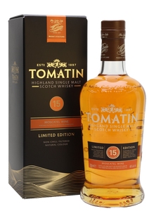Tomatin 15 Year Old Moscatel
