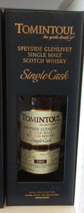 Tomintoul Single Cask 2001 Pedro Ximenez Sherry Butt