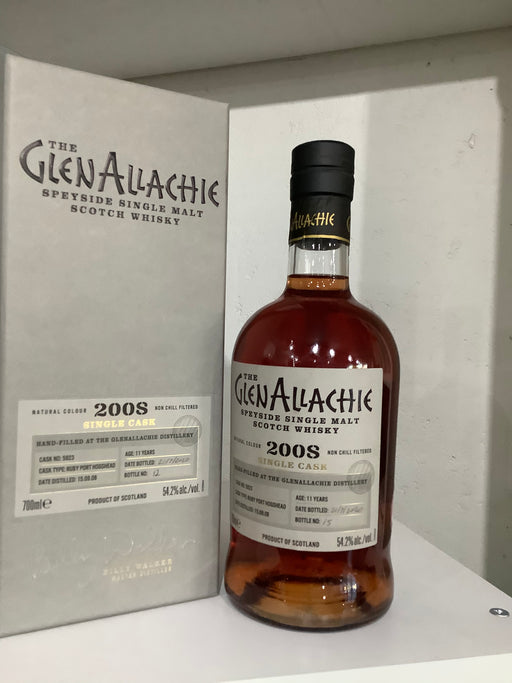 GlenAllachie Ruby Port Hogshead distillery exclusive Cask: 5923