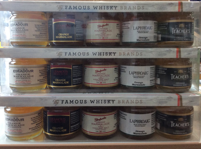 Famous Whisky Brands Gift Set 5x 42g