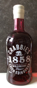 Crabbies Wild Berry 1858 Gin Liqueur