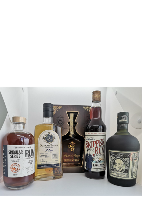 A Live Virtual Rum Tasting Saturday 25th July 2020 7.30pm