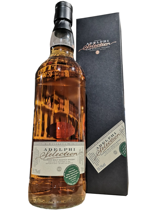 Adelphi Distilled in Dufftown 20 Year Old