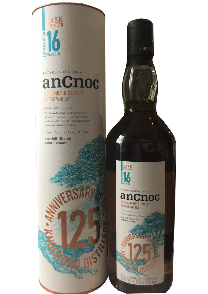 AnCnoc 16 Year Old Cask Strength