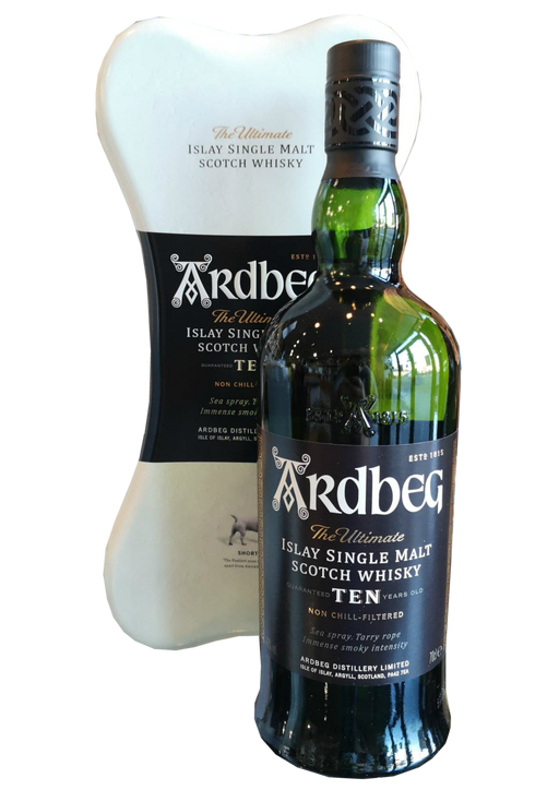 Ardbeg 10 Year Old Shortie Bone Gift Box
