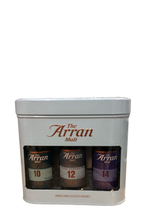 Arran Malt Miniature Triple Pack