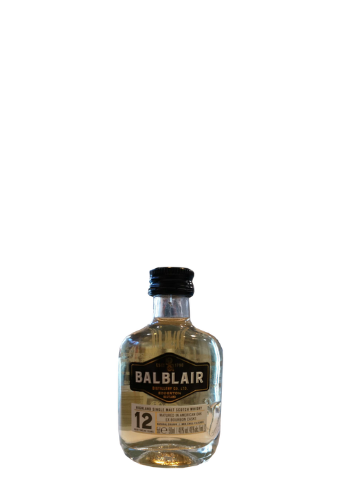 Balblair 12 Year Old Miniature