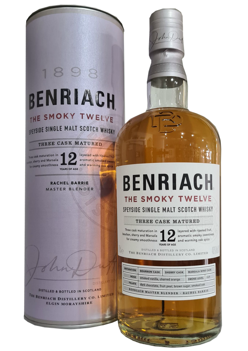 Benriach The Smoky Twelve Three Cask Matured