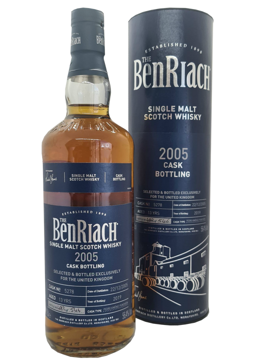 BenRiach 2005 UK Exclusive Cask 5278