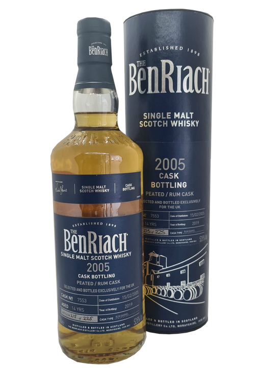 BenRiach 2005 UK Exclusive Cask 7553