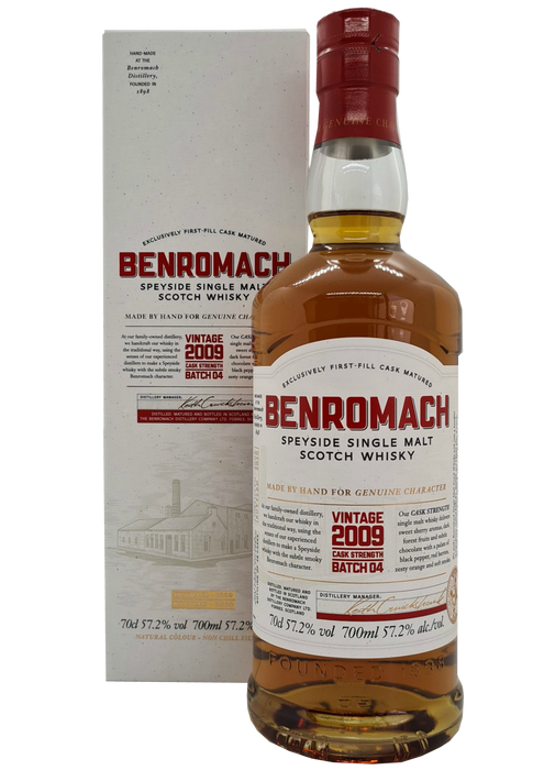 Benromach 2009 Vintage Batch 4