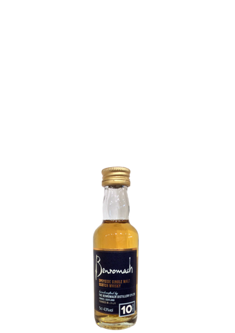 Benromach 10 year old 5cl miniature