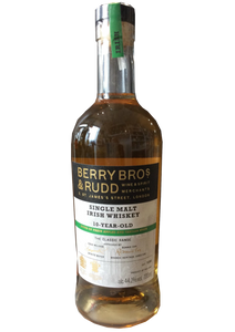 Berry Bros & Rudd 10 Year old Single Irish Malt Whiskey