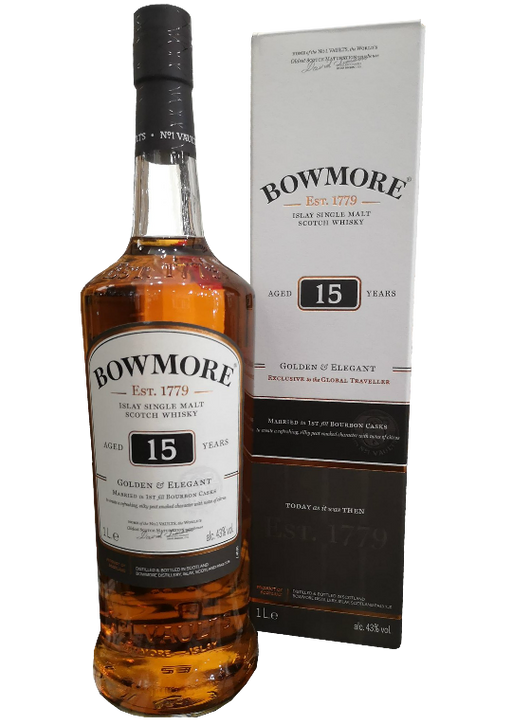 Bowmore 15 year Old Golden & Intense