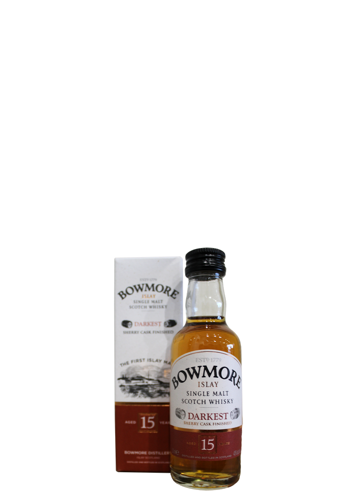 Bowmore 15 Year Old Darkest 5cl Miniature