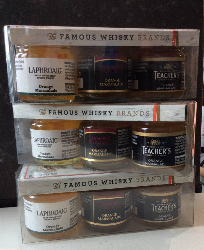 Famous Whisky Brands Gift Set 3 x 42g