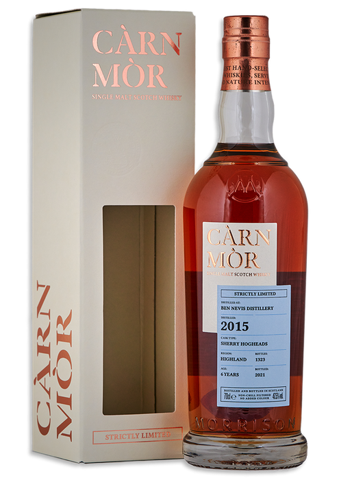 Ben Nevis 2015 Carn Mor 6 Year Old Sherry Hogshead *LIMITED TO 1 PER PERSON*