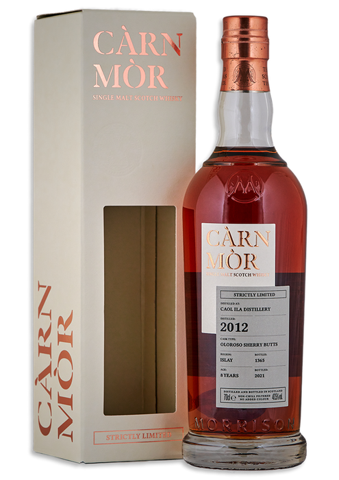 Caol Ila  2012 Carn Mor 8 Year Old Oloroso Sherry Butts *LIMITED TO ONE PER PERSON*
