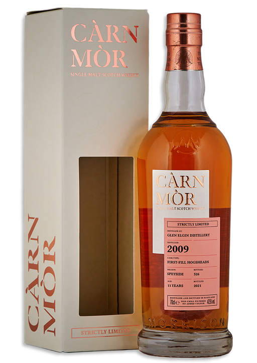 Glen Elgin 2009 Carn Mor 11 Year Old First Fill Hogsheads