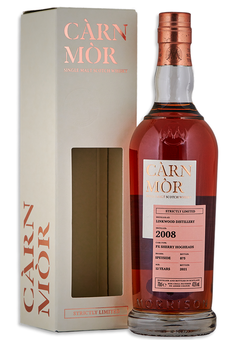 Linkwood 2008 Carn Mor 12 Year Old Pedro Ximenez Sherry Butts *LIMITED TO ONE PER PERSON*