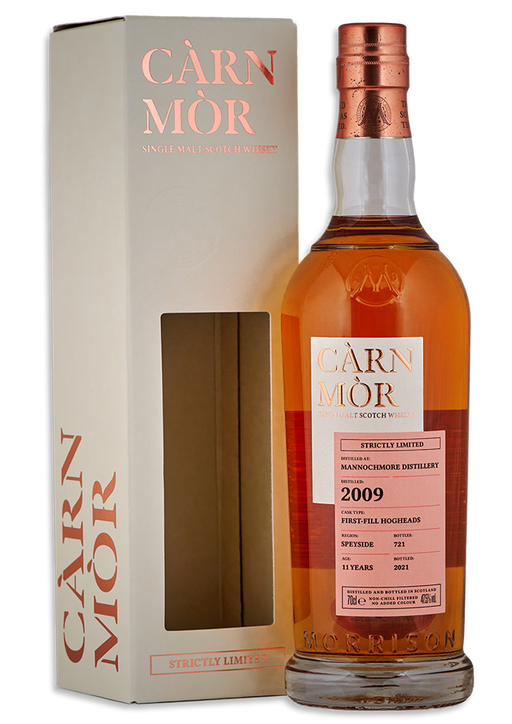 Mannochmore 2009 Carn Mor 11 Year Old First Fill Hogsheads