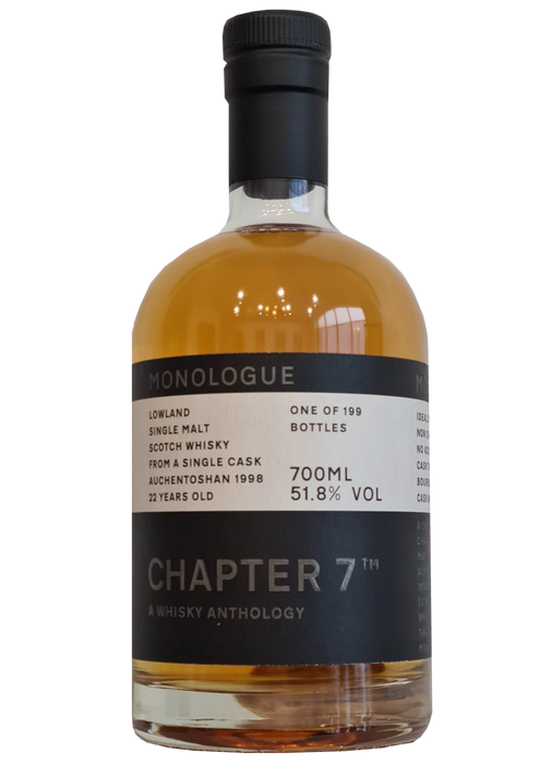 Chapter 7 Monologue 22 Year Old Auchentoshan